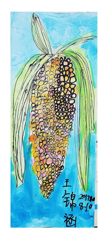 我们的大玉米棒棒哒!图片