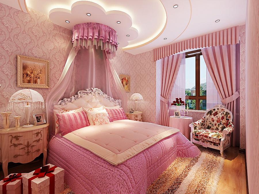 公主房,女儿房,儿童房设计方案