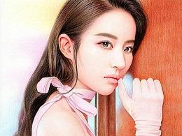 刘亦菲—手绘作品