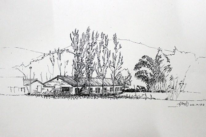 简笔画 手绘 素描 线稿 670_446