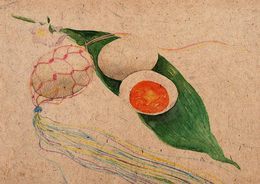 24节气食物手绘|商业插画|插画|山田silvia - 原创