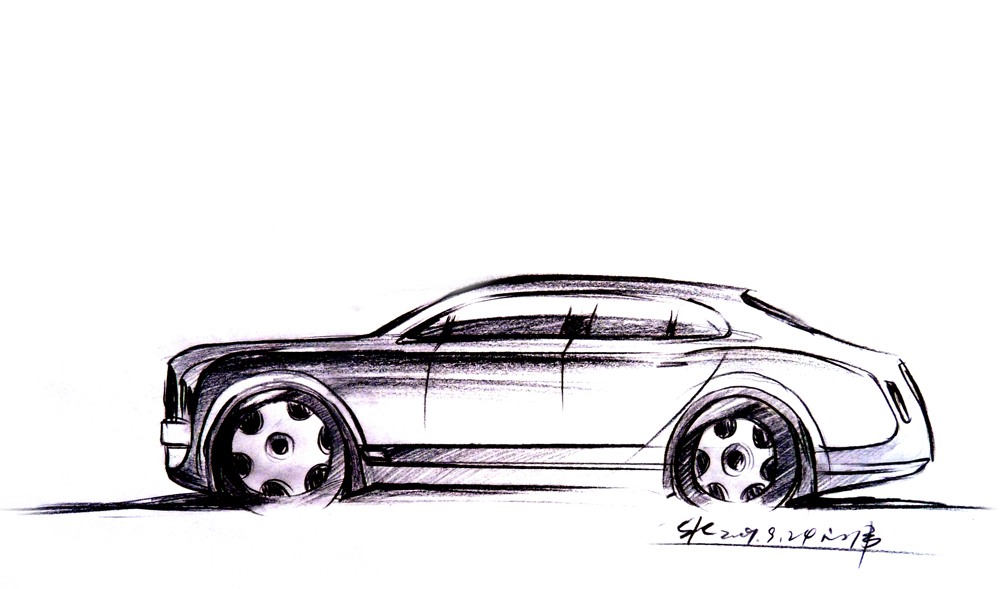 汽车草图02手绘|插画|概念设定|hdu_lww - 原创作品