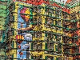 珠海最大3D壁画—来魅力壁画村即将试业!万氏兄弟出品