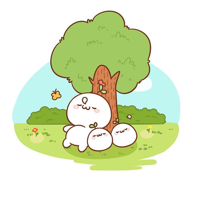 【四格漫×长草颜团子】植树节*(*)*【4P动态包v团子表情古惑仔乌鸦图片