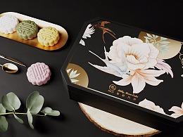 「 MILLY · 密龄」燕窝月饼包装设计