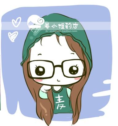 日韩明星真人可爱卡通q版手绘 简笔画