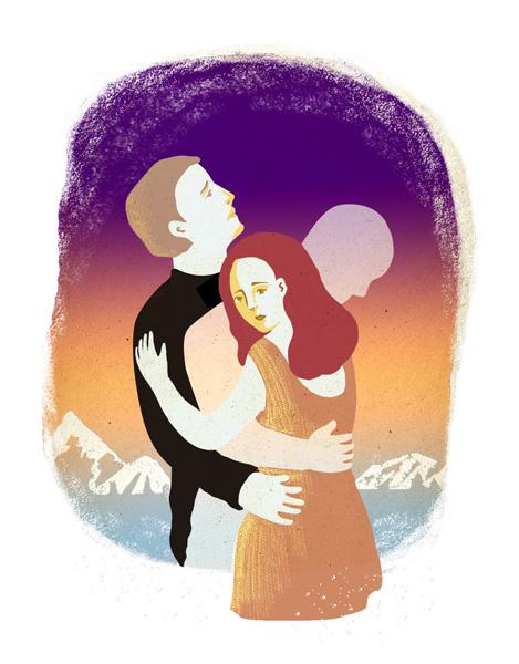 爱情的影子 其他绘画 插画 跳叫板