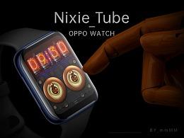 Nixie Tube_ OPPO Watch 表盘设计大赛