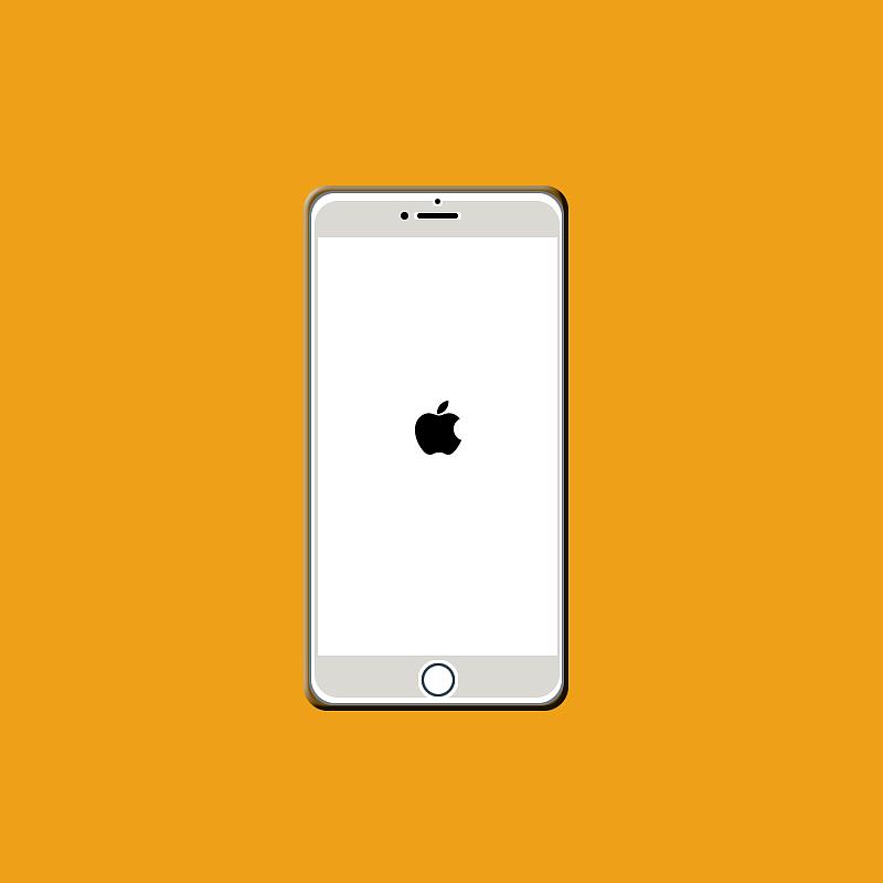 iphone4一直白苹果_在连上电脑后iphone就一直是白苹果和黑屏