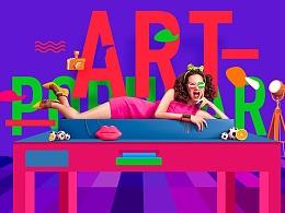 Banner设计——Pop Art 波普艺术