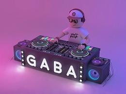 C4D--DJ GABA