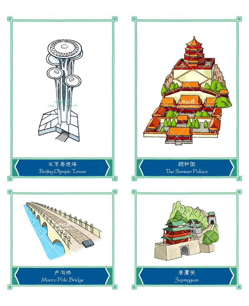 原创作品:北京地标