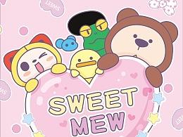 #手机壁纸#少女心爆棚的夏萌猫粉色壁纸