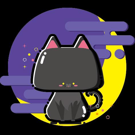 mbe 万圣节 黑猫