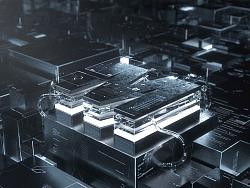 Concept 概念电路板渲染+后期多通道调色效果练习