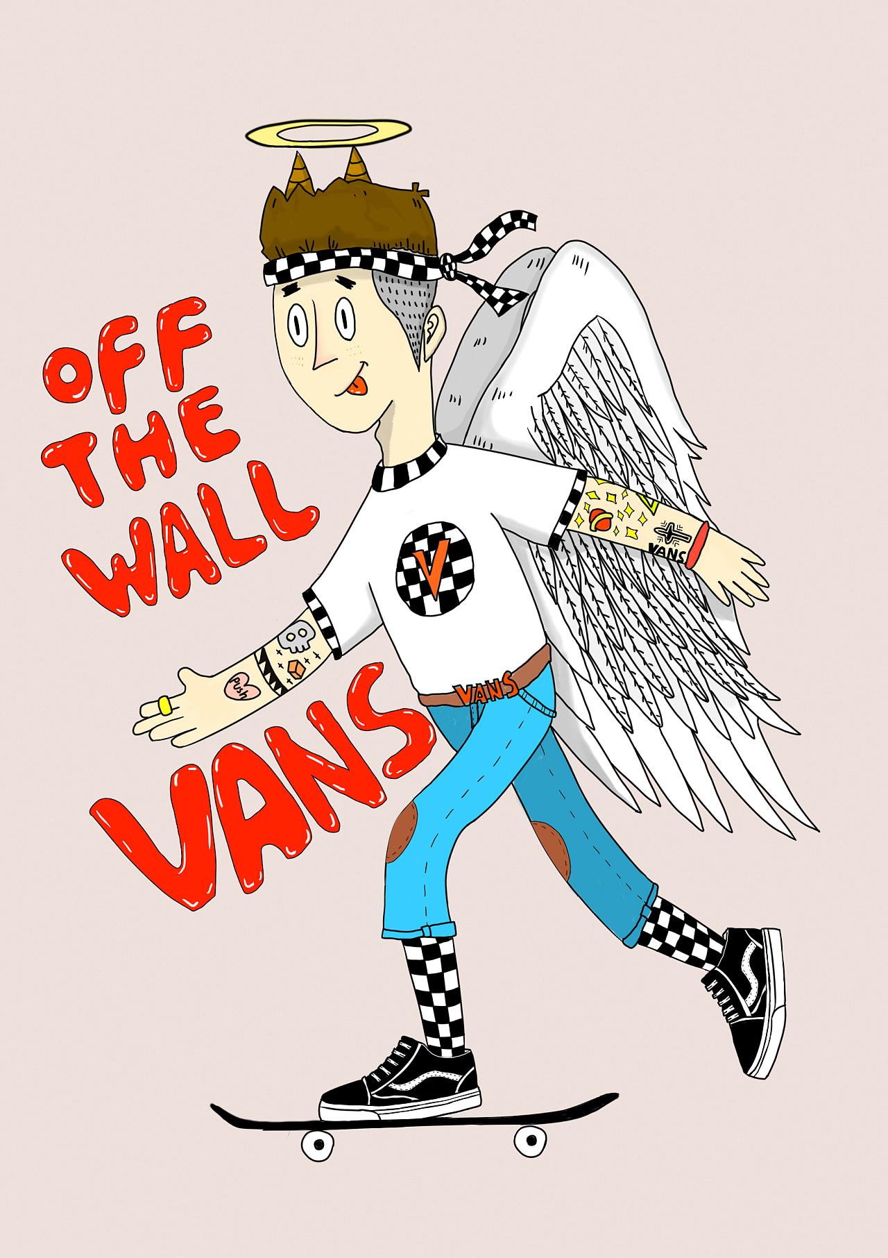 vans卡通手绘