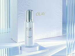 「造图舍」OLAY 99大促  化妆品礼盒光感视觉摄影