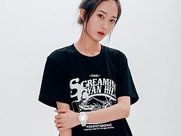 STRETAG2020夏季新品宽松T恤