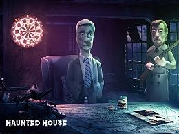 【荒屋惊魂Ghost】创意合成海报