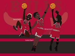 NBA冠军组合之芝加哥公牛队三巨头