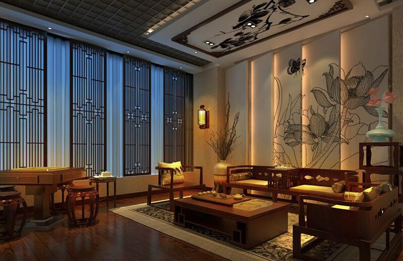 重庆座椅v座椅,重庆茶楼装修-茶楼茶缘版式工业设计茶楼图片