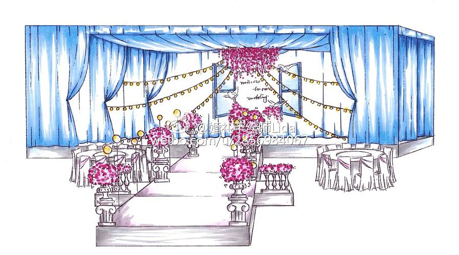 2015年部分婚礼手绘图