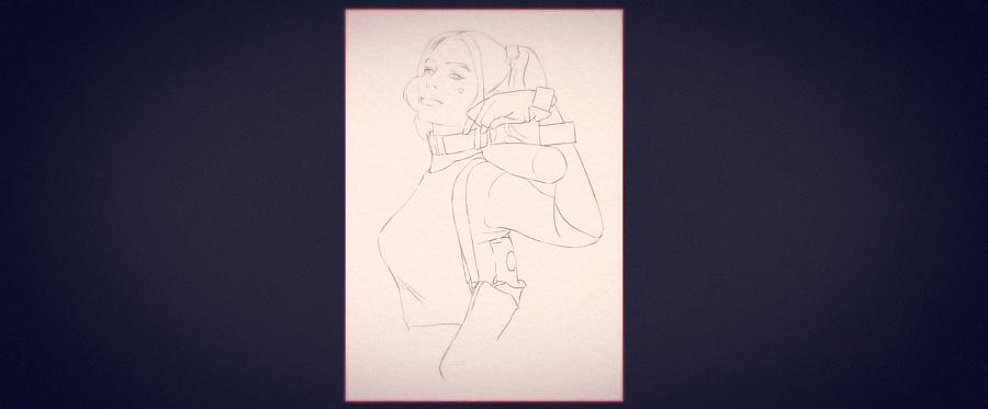 查看《PS手绘《自杀小队》小丑女:哈莉·奎茵》原图,原图尺寸:1920x796