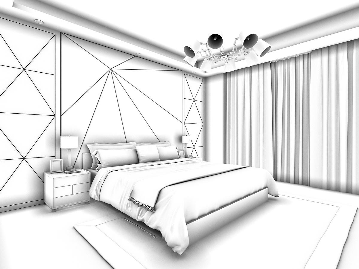 你会喜欢那种卧室|空间|室内设计|陈酸梅呀 - 原创