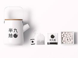 [半九拾]日本和果点心品牌设计