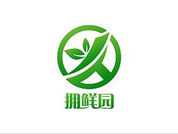拥鲜园生鲜水果logo