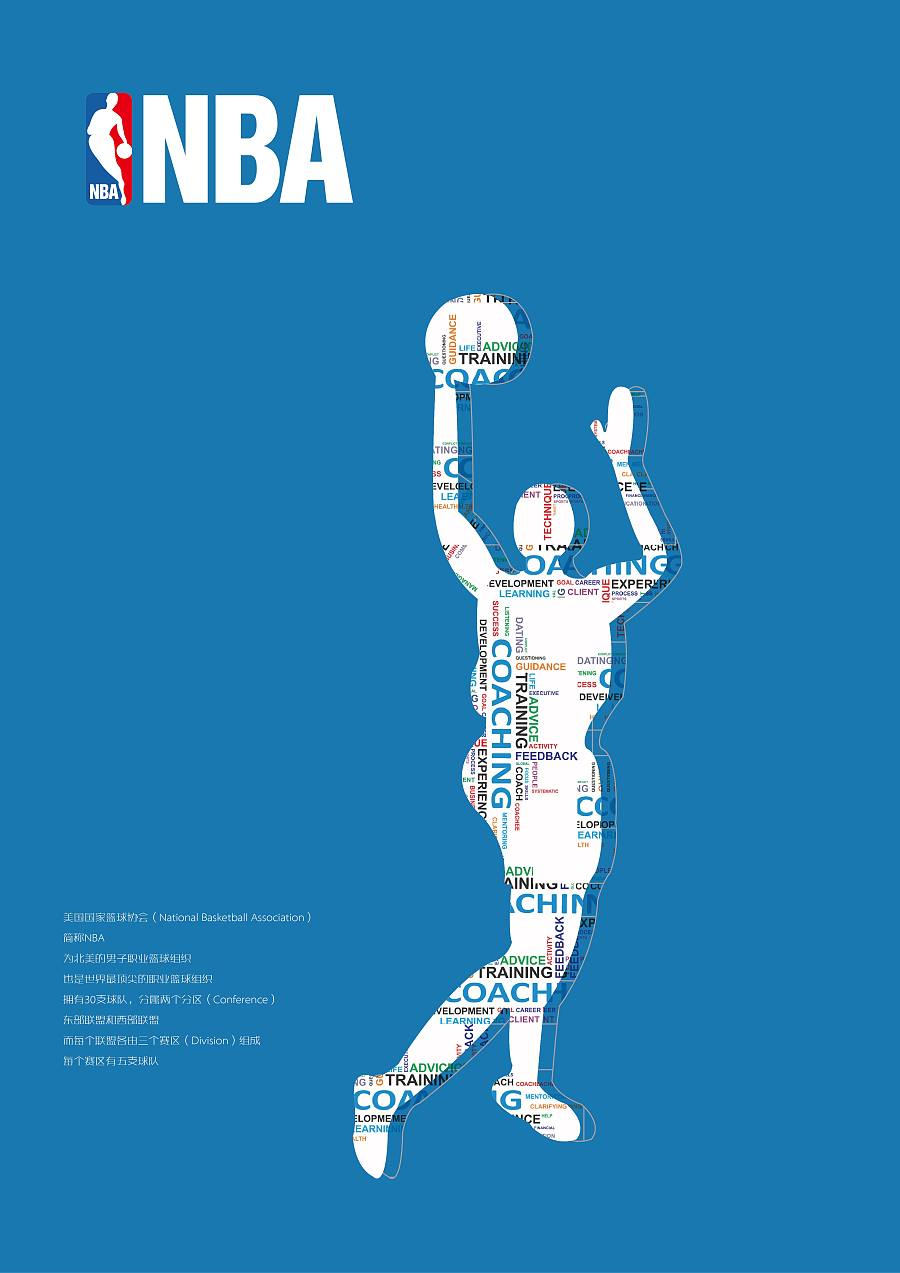 nba海报设计