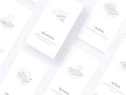 Flyme 8 空白页设计