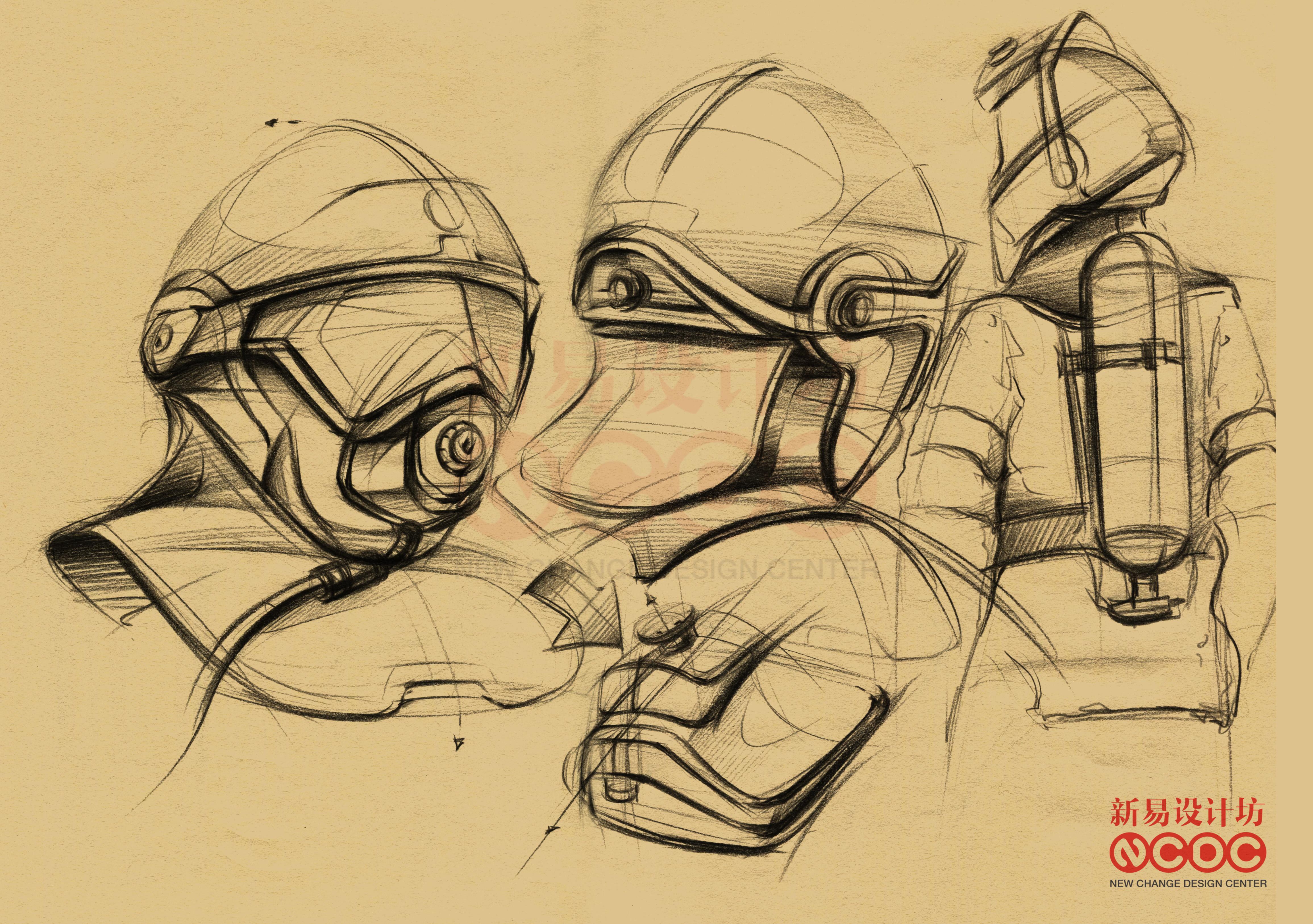 工业设计手绘;工业设计手绘彩铅精致表达