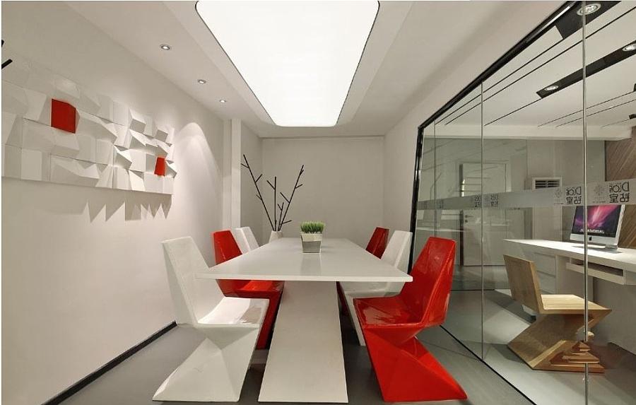 小型办公室装修丨小型办公室v酸奶-现代简约办酸奶广告平面设计图片