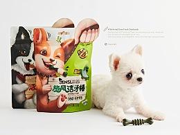 【森西SENSI·潔牙棒】寵物食品包裝