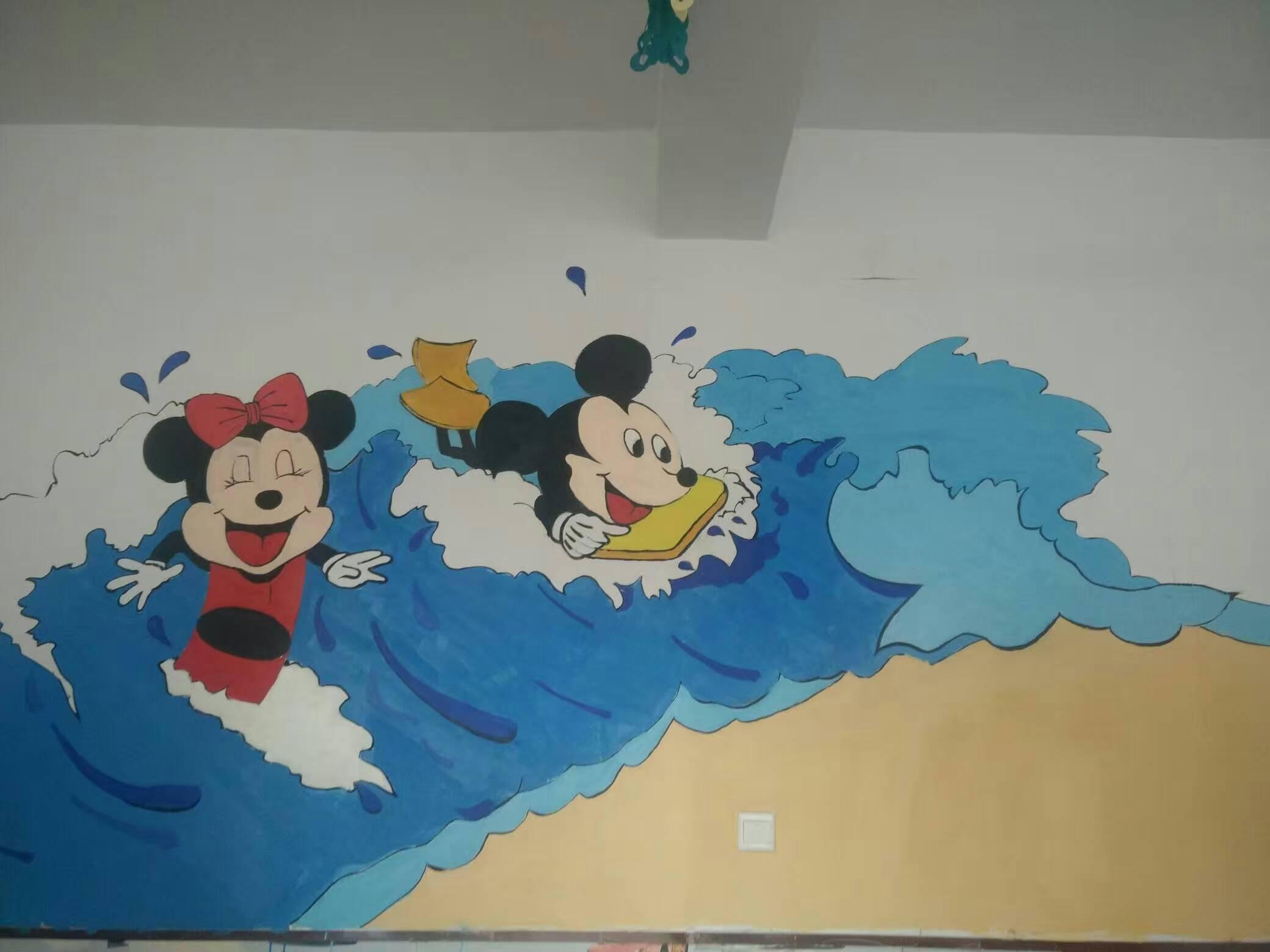 幼儿园墙体手绘