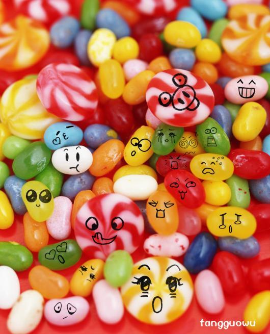糖果表情         图片