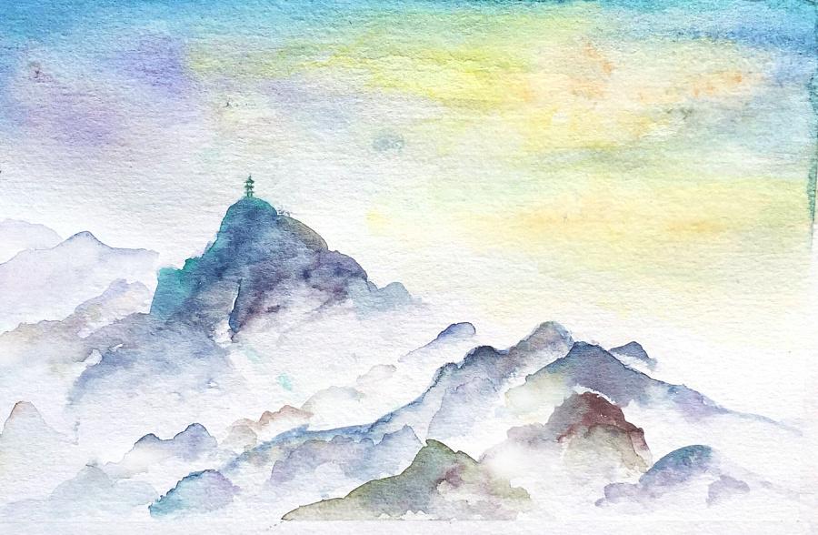 原创作品:水彩风景