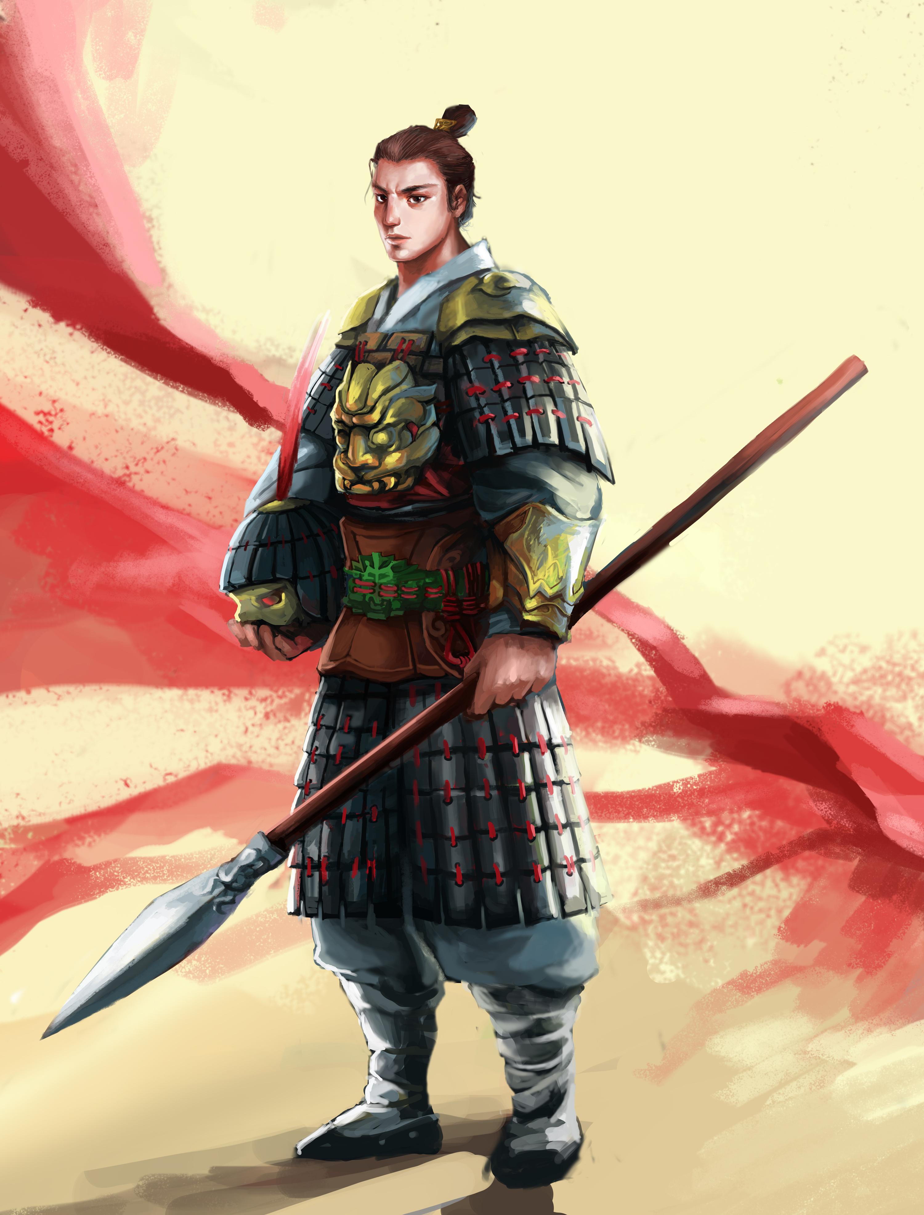 古代将军角色