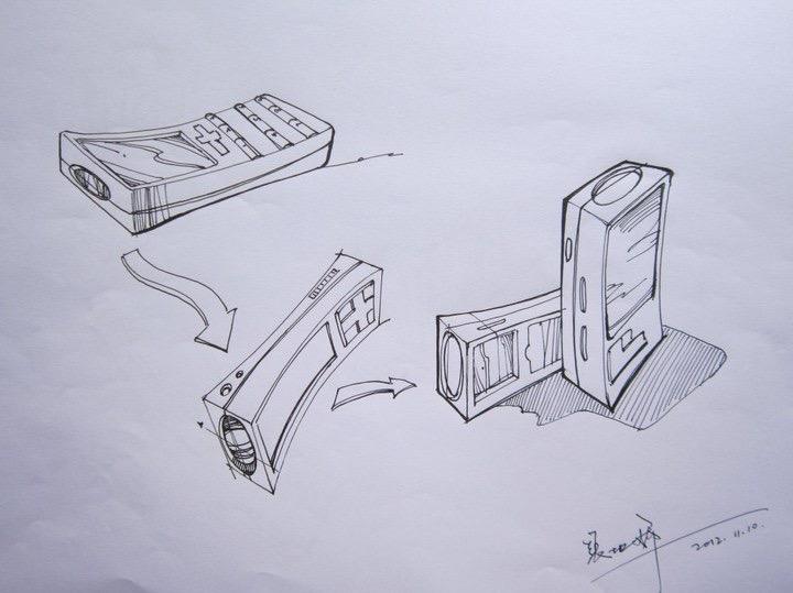 产品设计家具手绘线稿