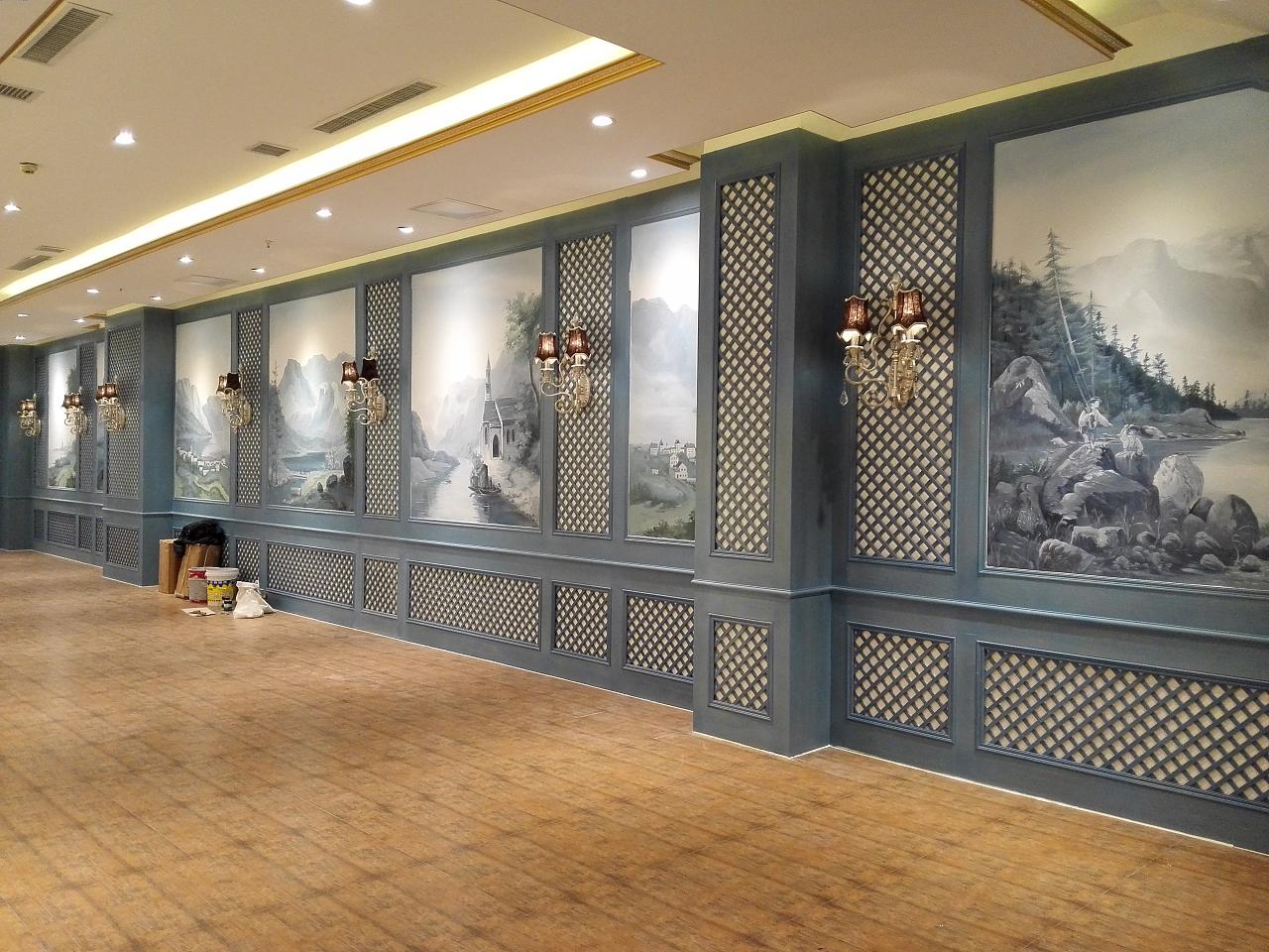 墙体手绘|其他|墙绘/立体画|wk8629296 - 原创作品