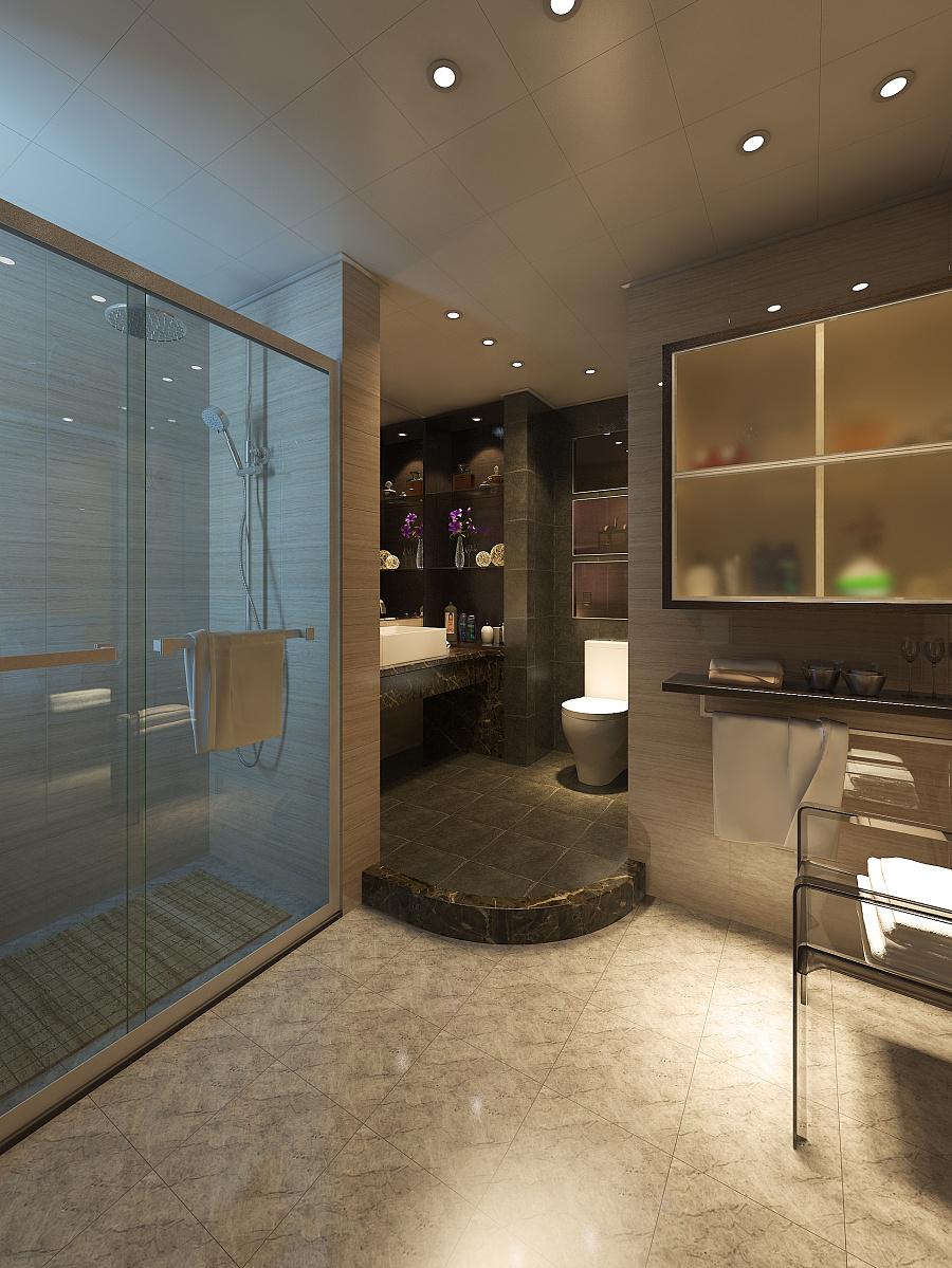 CH空间湾-后现代|室内设计|翡翠/建筑|B_tadpo设计院品巢图片