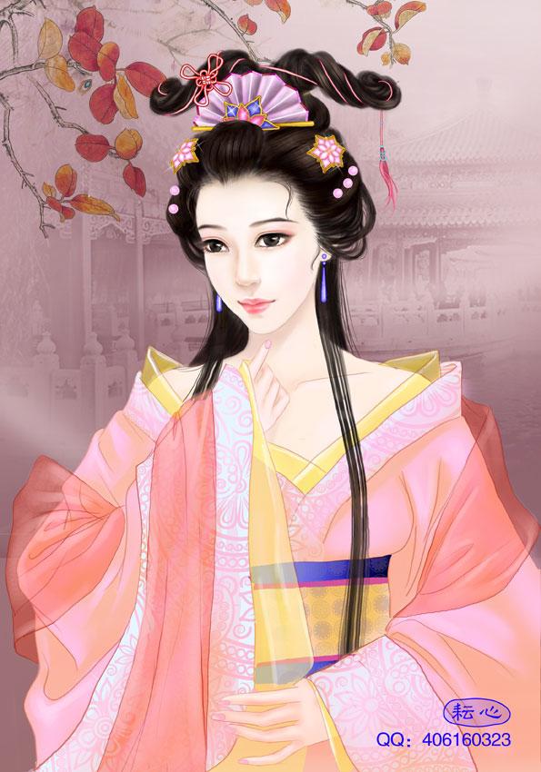 古典美女 汉朝服饰