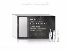 VOORLICI品牌医美系三段式安瓶精华液概念包装设计