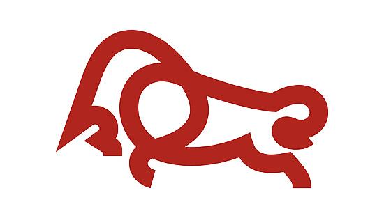 牛的logo_《7981兄弟的LOGO动物王国》马-牛-狮-鹿-羊等最新30款|平面|标志|路