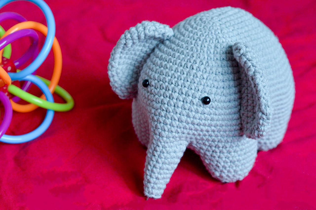 钩针娃娃——大象