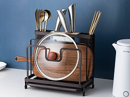 电商产品摄影 厨房筷子/勺子/厨具/刀具/收纳架