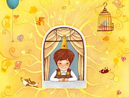 原创绘本-追求快乐的王子