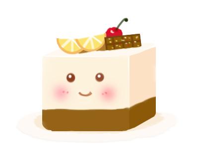 使用手绘板画个小蛋糕