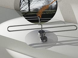無浴系列丨S·环形毛巾架